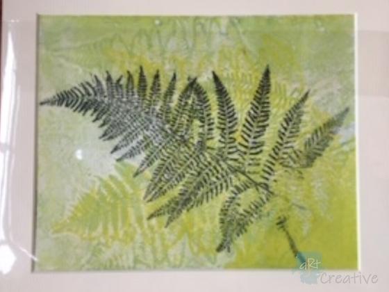 Fern Print - Maggie Davis (mounted/framed)