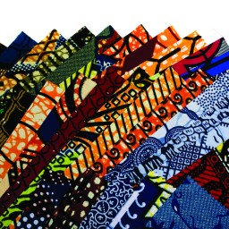 Fabric: African Wax Prints (Pack of 20)