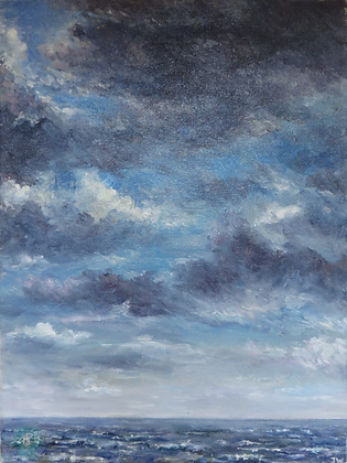 Sky Study - Julie Williams (canvas)
