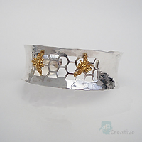 Bee Cuff  - Avalon Jewellery