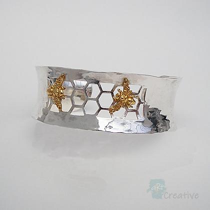 Bee Cuff  - Avalon Jewellery
