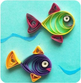 Holiday Craft Session: Quilling