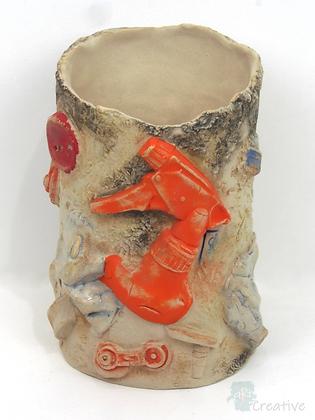 'Washed Up' Ceramic Sculpture - Emma Jayne Robertson