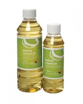 Medium: Refined Linseed Oil