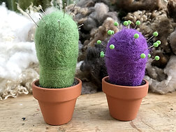 Needlefelt Kit -Cactus Ornament/Pin Cushion  - Annie Brown