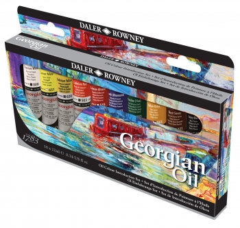 Oil Paint Set (Daler Rowney: Georgian)