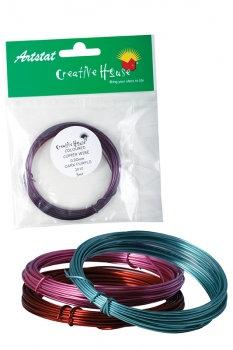 Coloured Craft Wire (0.9mm x 5m)