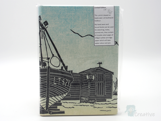 A5 Book 'LT527 with Sheds'  - Janet Watson