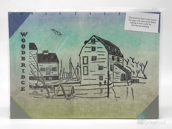 A4 Book 'Tide Mill, Woodbridge' - Janet Watson