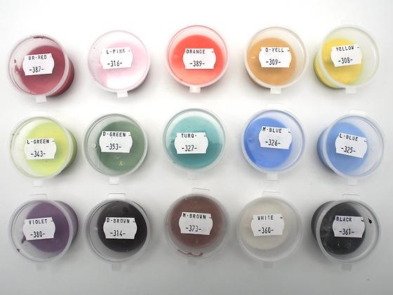 Ceramic Underglaze Paint Taster Pots
