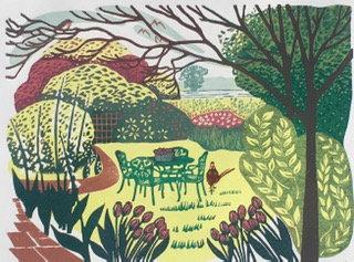 Our Garden - Helen Maxfield (Mounted)