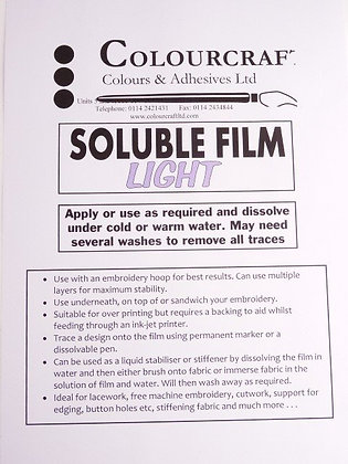 Watersoluble Film