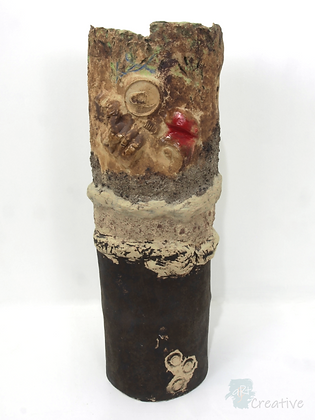 'Woodland Walk II' Ceramic Sculpture - Emma Jayne Robertson