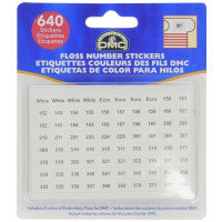Embroidery Floss Stickers - DMC