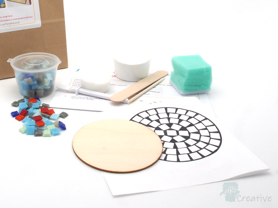 Mini Mosaics - Round Coaster - Takeaway Taster