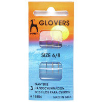 Hand Sewing Needles: Glovers/Leather (Gold Eye) - Pony