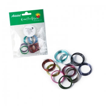 Coloured Craft Wire Assorted Pack (10 x 0.5mm x 1m)