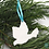 Thumbnail: Christmas Decorations Translucent 'Textured Doves'