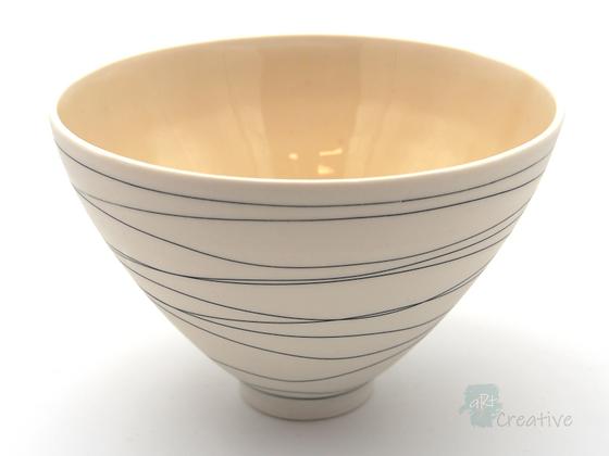 Small Bowl 'Drift' Design by Sue Bowerman