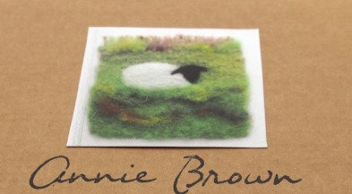 Needlefelt Picture Kit Sheep - Annie Brown