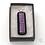 Thumbnail: Dichroic Glass Pendant Dark , Pink & Silver - Louise Ferrier