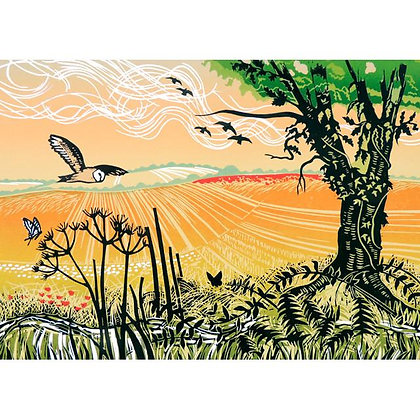 Rectangular Art Card: Wild Patch by Rob Barnes