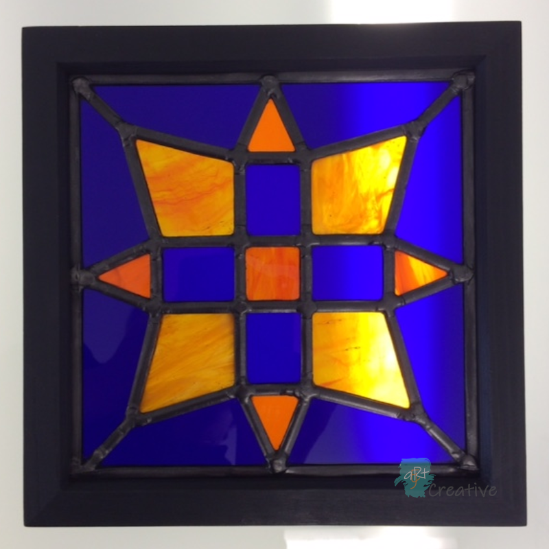 Stained Glass Panel - SV