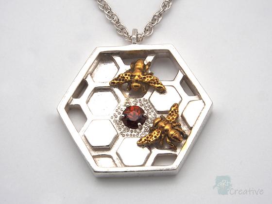 Bee Pendant  - Avalon Jewellery