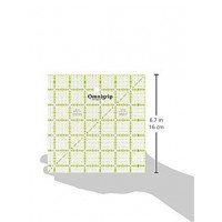 """Omnigrid Non-Slip Ruler 12.5"""" square - Prym"""