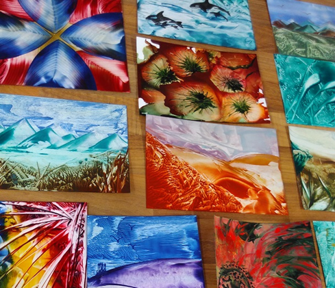 Encaustic Wax Art