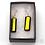 Thumbnail: Dichroic Glass Drop Earrings Black & Gold- Louise Ferrier