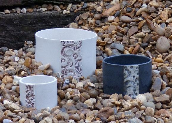 Fossil Pot Large/Medium/Small - Emma Jayne Robertson