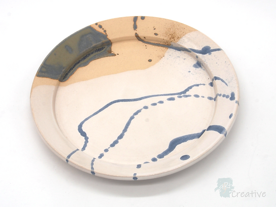 Shallow Dish with Flared Edge - Sue Bowerman