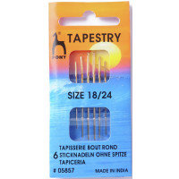 Hand Sewing Needles: Tapestry (Gold Eye) - Pony