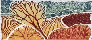 Across the Fields - Helen Maxfield (Mounted)