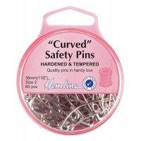 Safety Pins: Curved (Hemline)