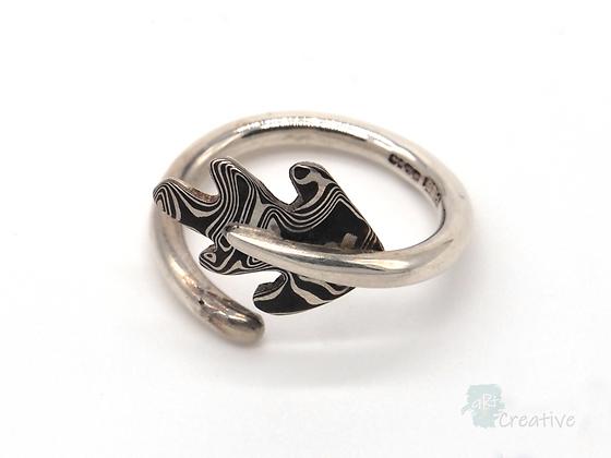 Silver Oak Leaf Ring - Helen Smith