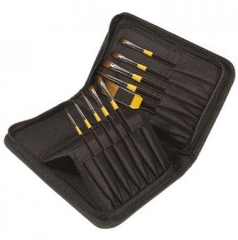 Brush: Acrylic Brush Sets in Zip Case (System 3: Daler Rowney)