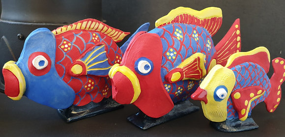 Decorative Ceramic Fish Collection - TammiR
