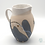 Thumbnail: Large Jug in 'Sea Beach' Design by Sue Bowerman