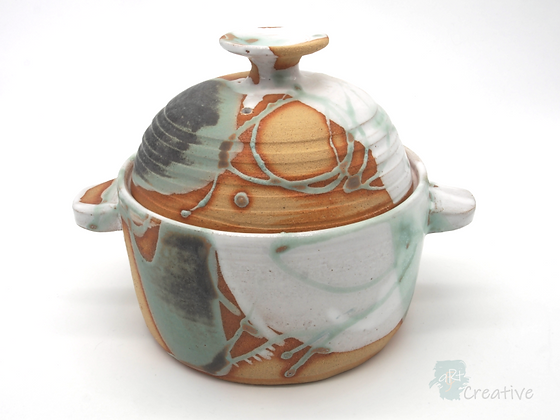 Small Lidded Casserole Dish - Sue Bowerman