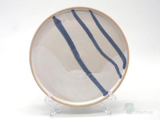 Medium Plate ' Sea Beach'  - Sue Bowerman