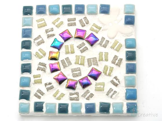 Mini Mosaics - Square Coaster - Takeaway Taster