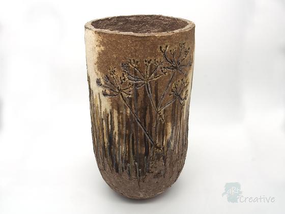 Cow Parsley Vase- Ruth Brumby