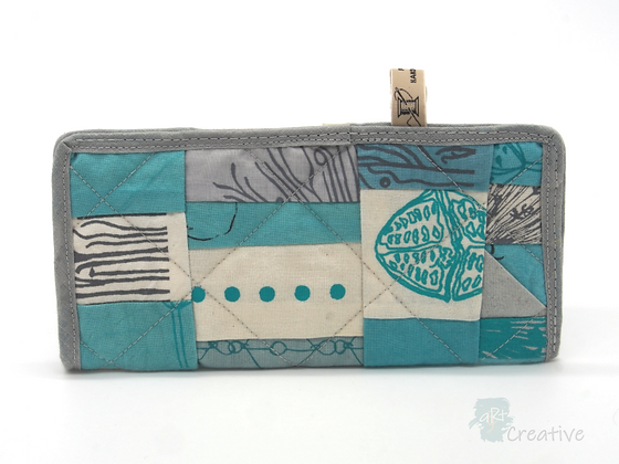 Glasses Pouch (Patchwork - Turquoise) - Danielle Wade