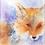 Thumbnail: Fox - Helen Clarke (Mounted)