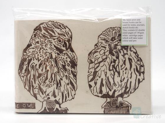 A5 Book 'Little Owl' - Janet Watson