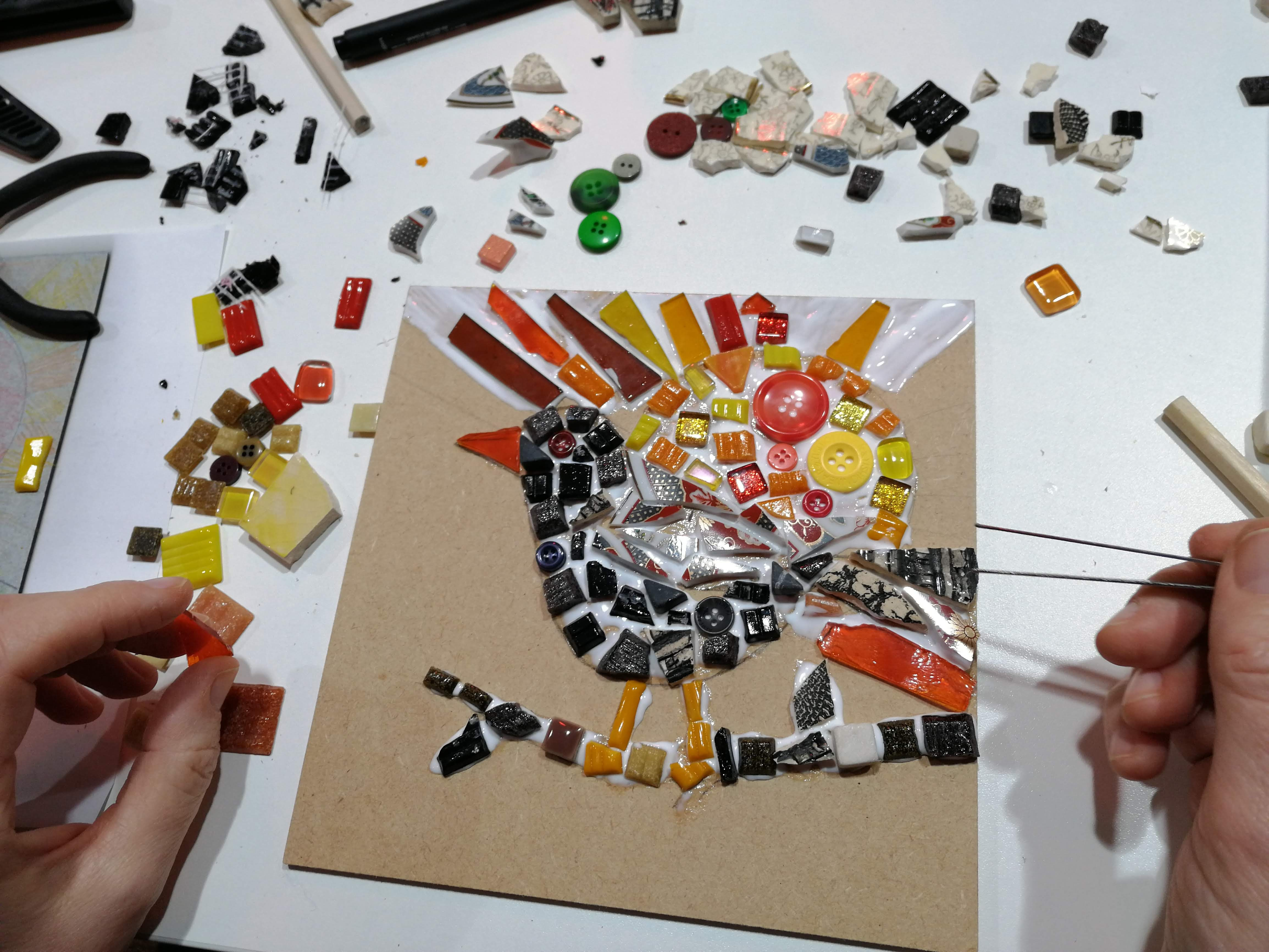 Creative Mosaic Workshop - EJR