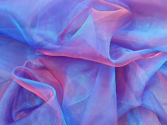 Fabric: Shot Organza (1/4 metre)