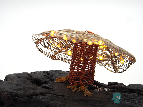 Small Fungi Sculpture (LED Lit)   - Patricia Sanders